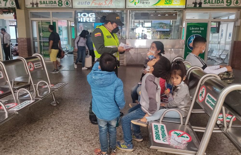 Campaña ¡Abre Tus Ojos! Policía Metropolitana Ibague