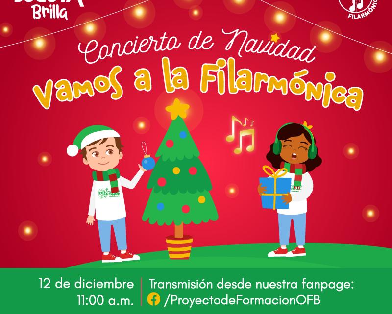 Concierto Virtual de Navidad del Proyecto de Formación Musical de la OFB