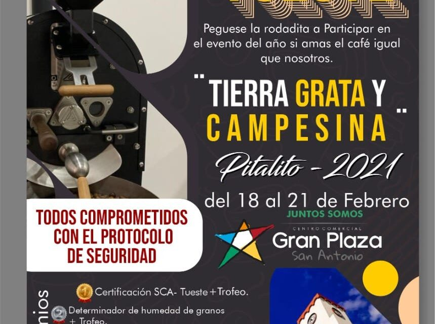 """En Pitalito Huila se realizará el Campeonato de Tostión """"Tierra Grata y Campesina"""""""