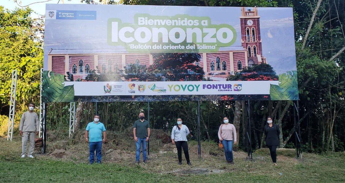 Vallas de promoción turística en municipios Tolima