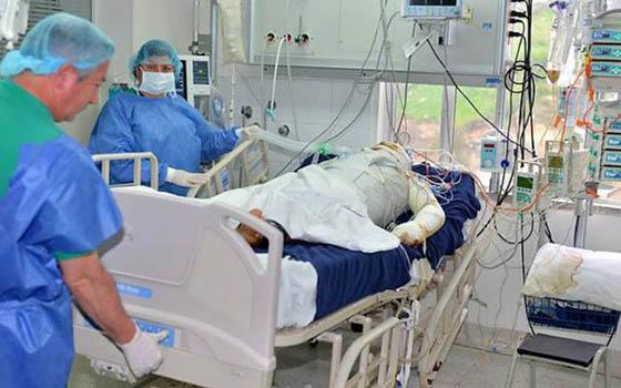 Ibagué recibe 25 nuevas unidades de cuidados intermedios de Emiratos Árabes Unidos