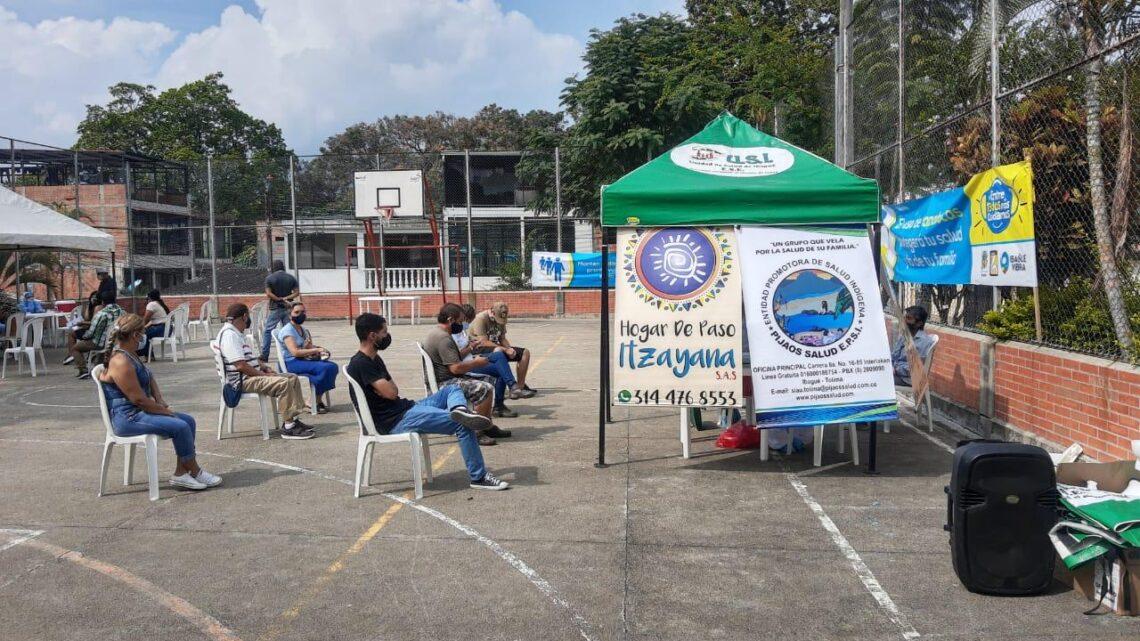 Ibaguè toma de muestras gratuitas de Covid-19 en la comuna 10