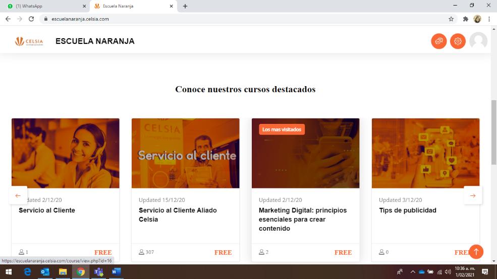 Celsia lanza Escuela Naranja, una plataforma de formación virtual