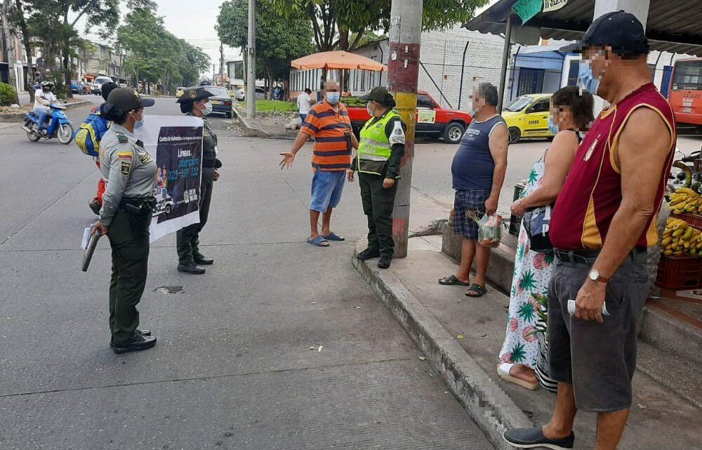 CAMPAÑA CONTRA LAS LESIONES PERSONALES Policía Ibaguè