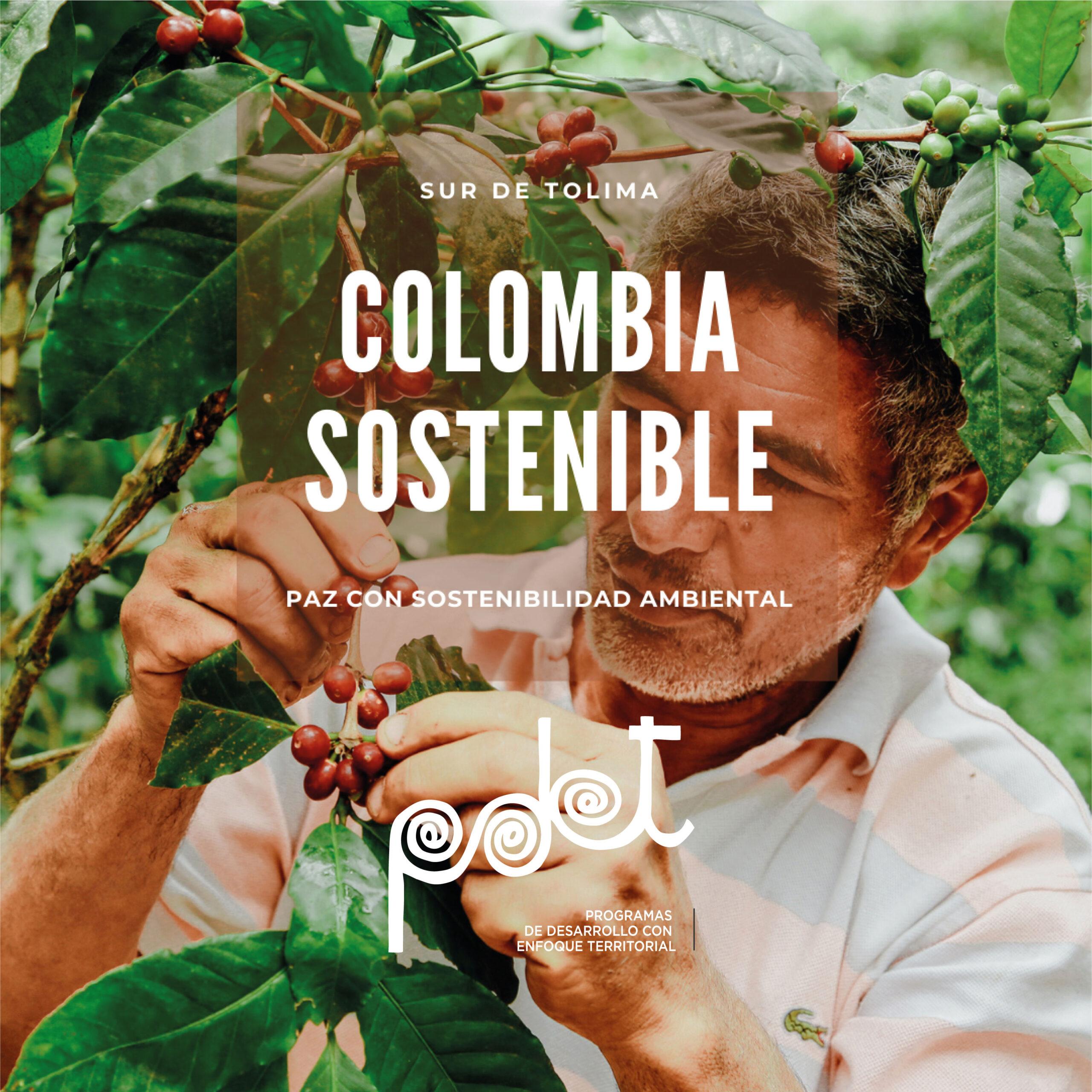 Proyectos por más de $12.000 millones apoya Colombia Sostenible en el Sur del Tolima