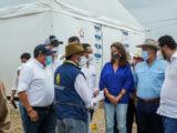 Turistas: Presidente Iván Duque inspeccionaron Centro Transitorio para Migrantes