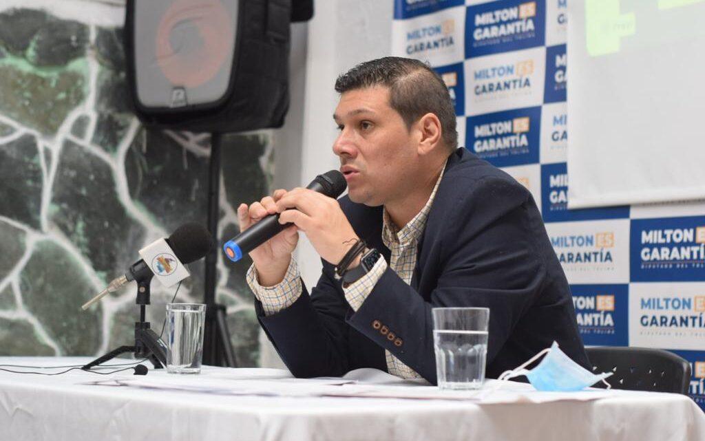 Diputado Milton Restrepo presenta balance de los proyectos de ordenanza de su autoría