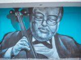 Turistas: Ibagué tiene grafitis con personajes históricos de la música .