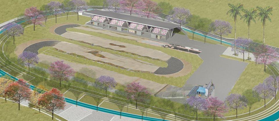 Turistas: Así será la Pista de BMX que se construirá en el Parque Deportivo de Ibagué.