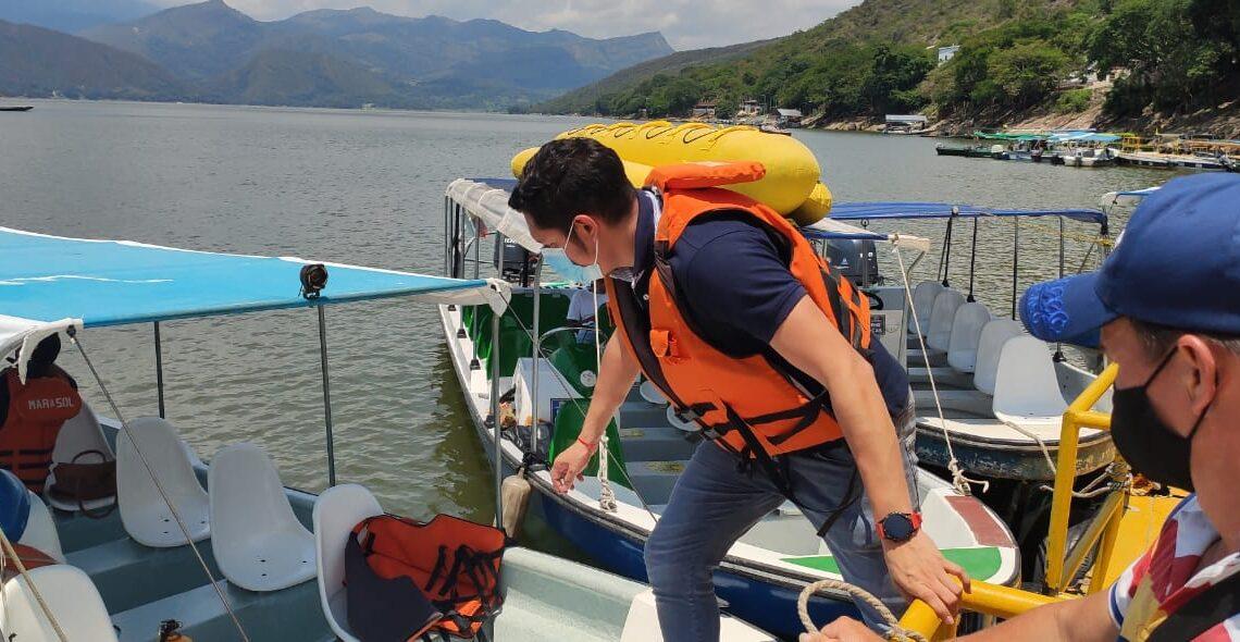 Turistas:  Operadores náuticos de la represa de Prado participaron de nuestra Ruta TIC Tolima
