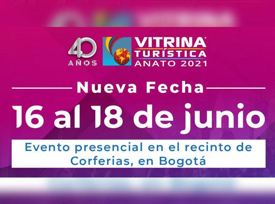 40 VITRINA TURÍSTICA – ANATO 2021 / Recomendaciones