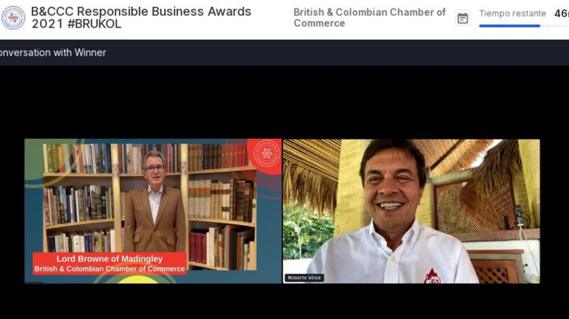 Turistas: FNC gana Premios Brukol 2021 por sus aportes a los ODS como empresa sostenible