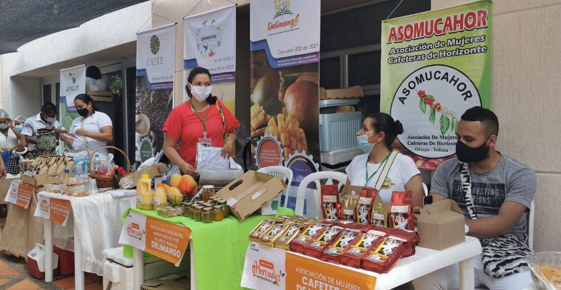 Expoalternativas empresariales en Espinal Tolima.