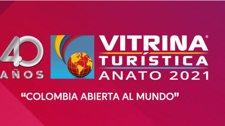 VITRINA TURÍSTICA de ANATO 16, 17 y 18 de junio 2021.
