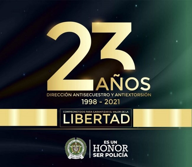23 años al servicio de nuestra comunidad garantizando el valor de la libertad