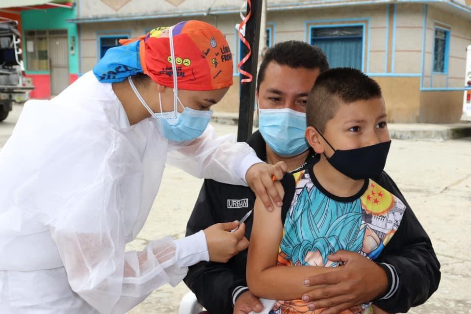 Turistas: 5.088 niños y niñas inmunizados, Sarampión y Rubéola.