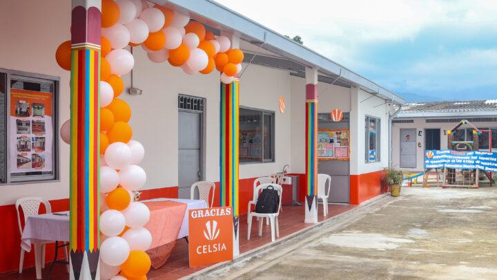Celsia entrega dos escuelas transformadas a 200 estudiantes del Tolima