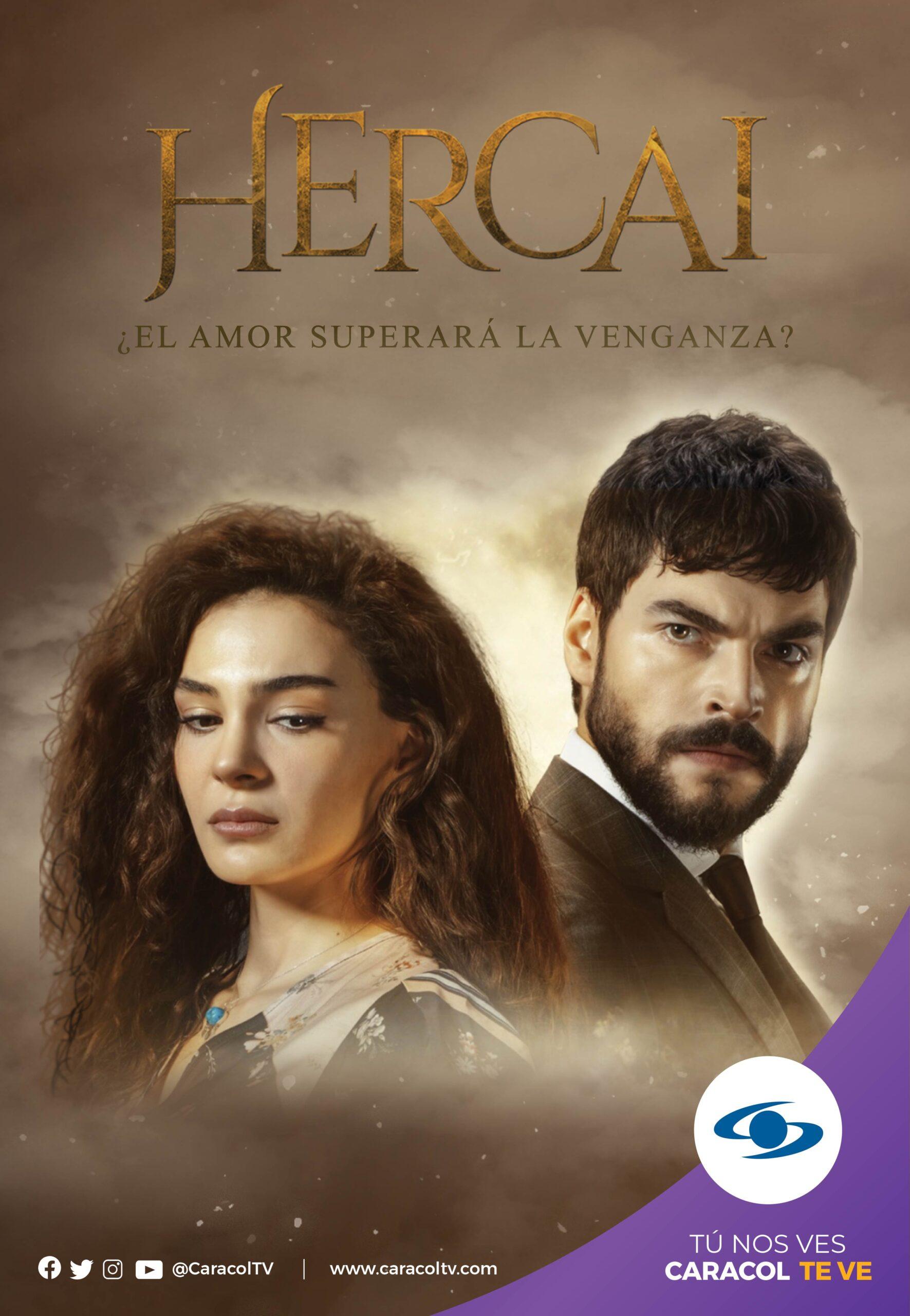 Serie turca Hercai, en Caracol Televisión