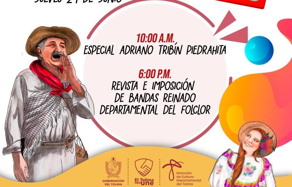 HOMENAJE A ADRIANO TRIBÍN PIEDRAHITAY REVISTA DEPARTAMENTAL DE FOLCLOR