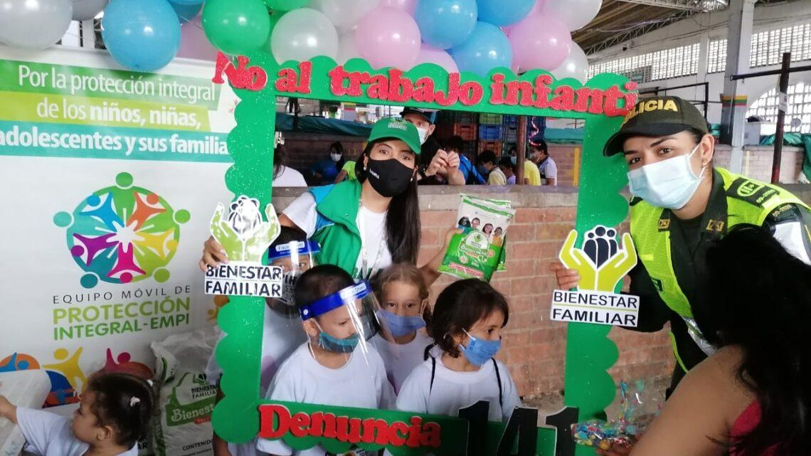 Dia Mundial Contra el Trabajo Infantil Policía Metropolitana de Ibague