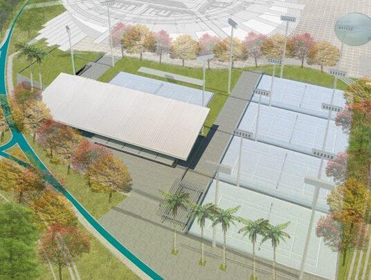 Turistas: ¡Ibagué tendrá un moderno Complejo de Raquetas en el Parque Deportivo!