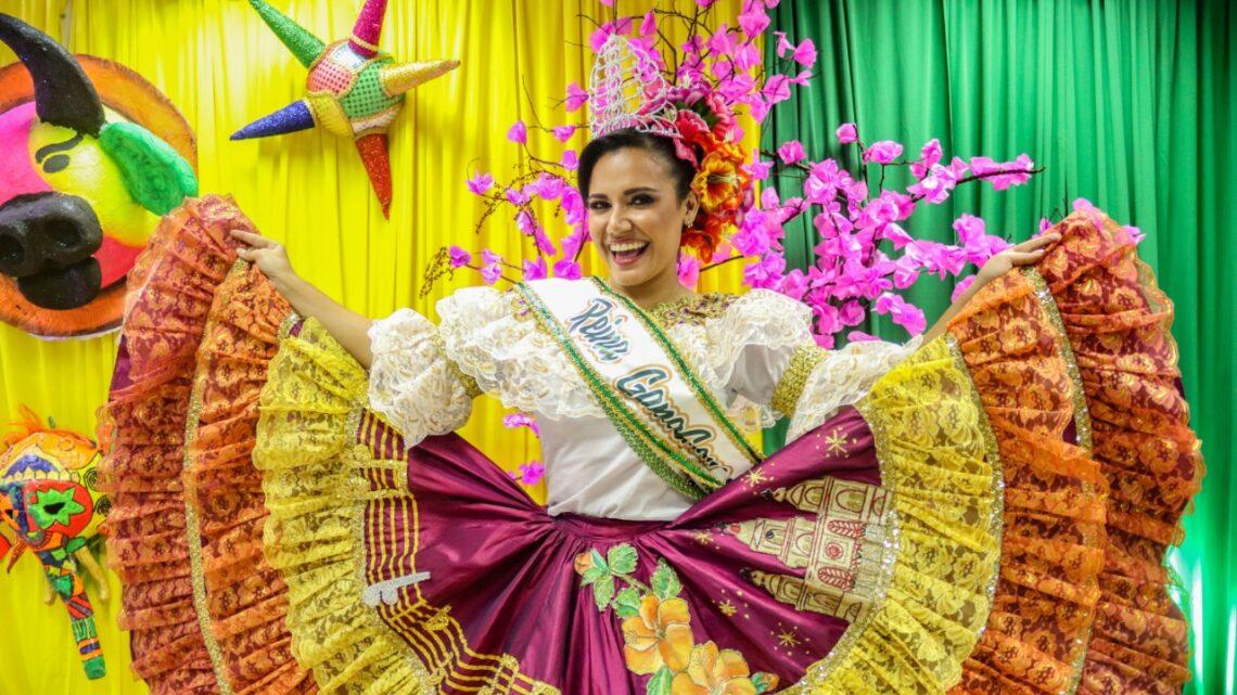 Maura Patricia Murgas Barraza Reina del Quinto folclorito GanaGana