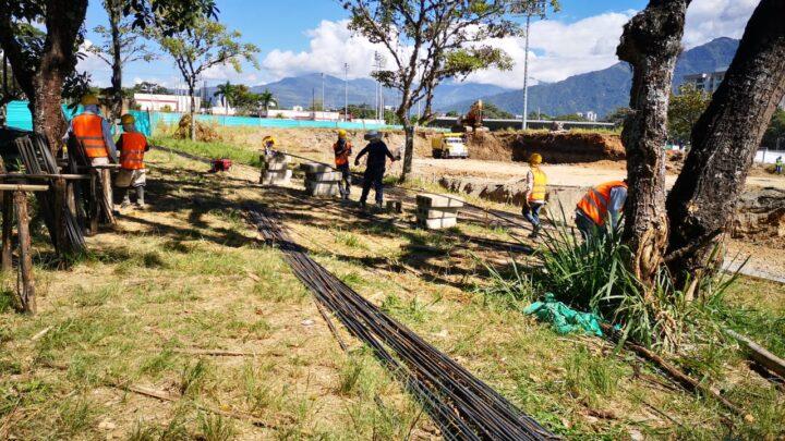 Turistas: En Ibaguè avanzan a buen ritmo las obras del Complejo de Raquetas
