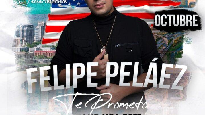 FELIPE PELÁEZ ANUNCIA EL 'TE PROMETO TOUR USA 2021'