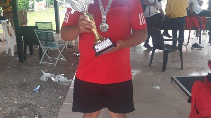 Turistas: Ernesto Barreto, ibaguereño,  Campeonato Sambo