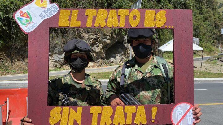 Turistas: Tolima y Quindío promueven prevención frente al delito de trata de personas