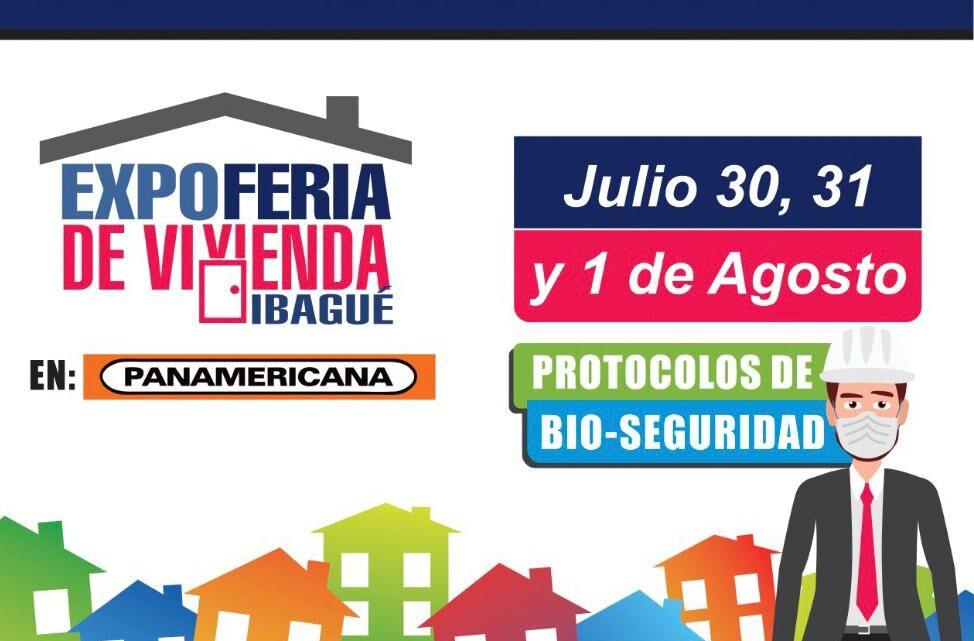 EXPOFERIA DE VIVIENDA PRESENCIAL 30, 31 de Julio, y 1 de Agosto PARQUEADERO DE PANAMERICANA