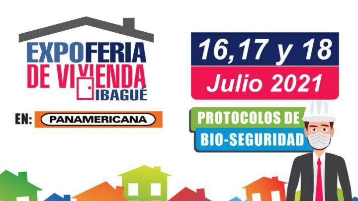 EXPOFERIA DE VIVIENDA PRESENCIAL 16, 17, 18 PANAMERICANA IBAGUÈ