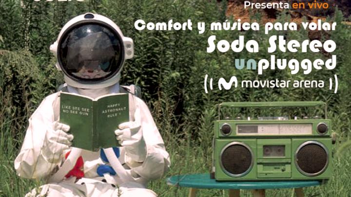 El Rito de Soda Stereo presenta en vivo: Comfort y música para volar
