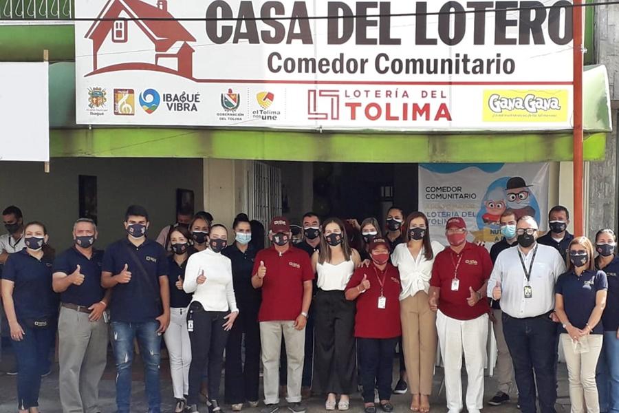 Turistas: Ibaguè Inaugurada primera Casa del Lotero en el país, Lotería del Tolima