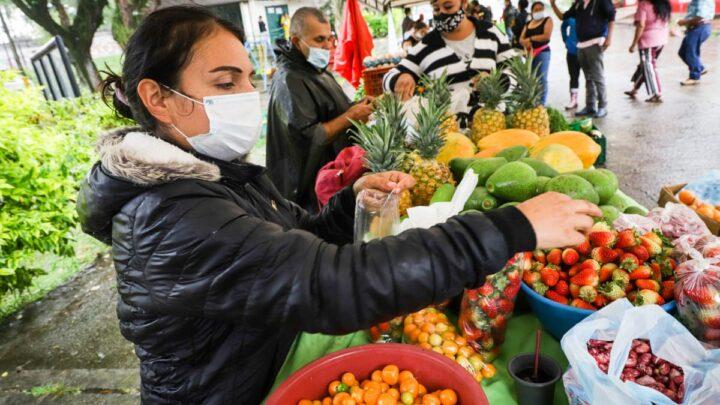Turistas:  Prográmese para hacer sus compras en la doble jornada de Mercados Campesinos en Ibaguè