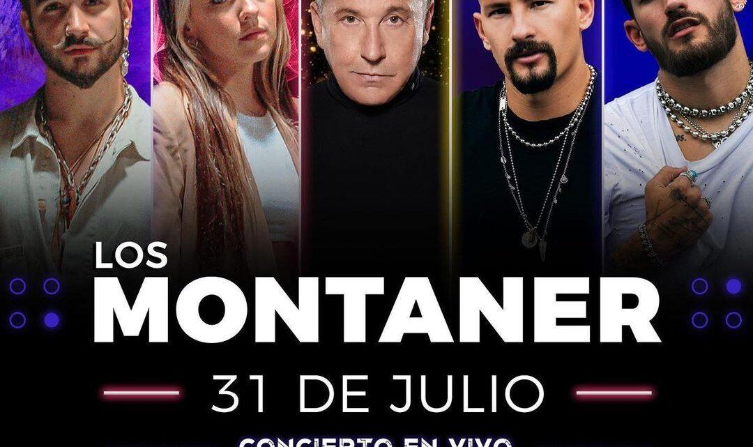 """POR PRIMERA VEZ """"LOS MONTANER"""" SE UNEN EN UN CONCIERTO MUY ESPECIAL"""