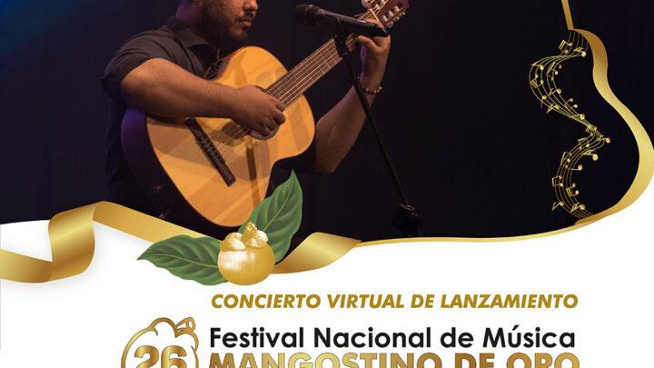 """26° FESTIVAL NACIONAL DE MÚSICA """"MANGOSTINO DE ORO"""""""