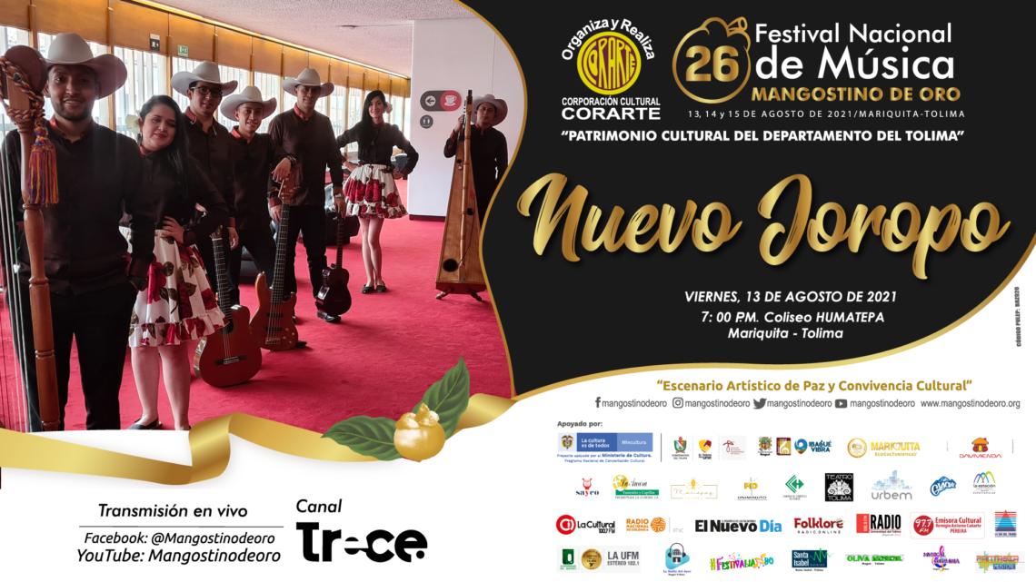 Turistas: 26° Festival Nacional de Música Mangostino de Oro 2021