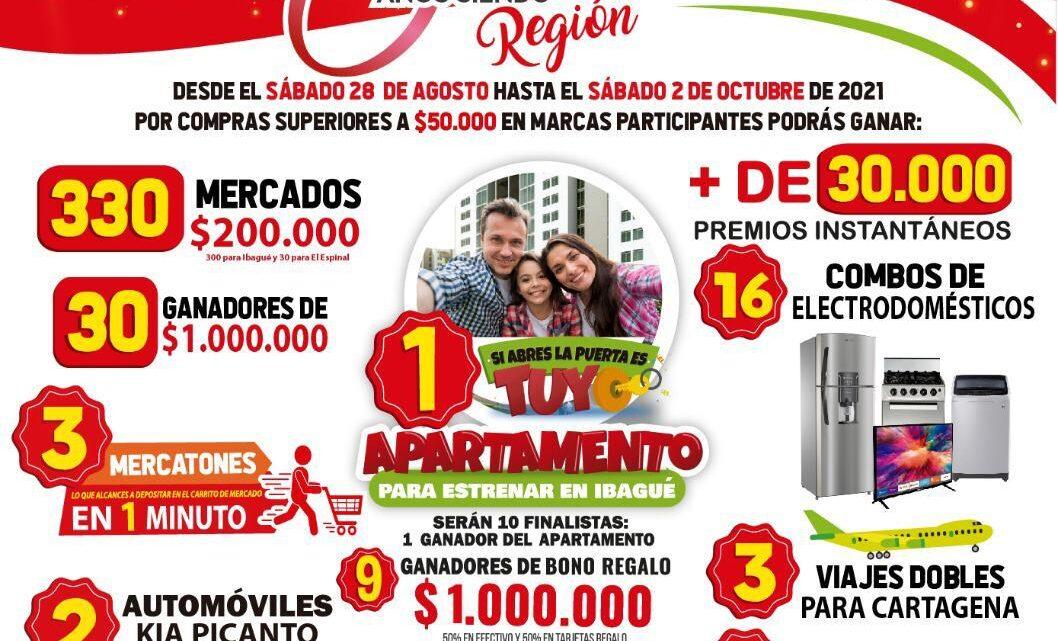 Turistas: Mercacentro 30 años siendo Región Tolimense.