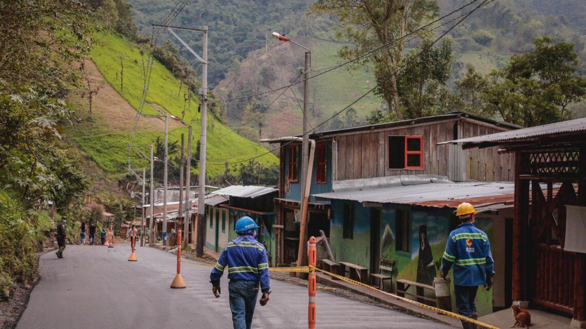 Turistas: En diciembre,   la vía Ibagué-Juntas, del Cañón del Combeima estrena pavimentación