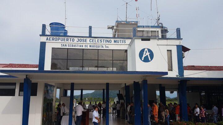 Turistas: Pavimentación de la vía Álamos-Aeropuerto en Mariquita Tolima.