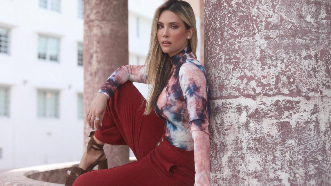 Geraldine Duque se prepara para el lanzamiento de su primera colección de ropa