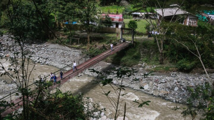 TURISTAS: La comunidad del Cañón del Combeima cuenta con el apoyo del gobierno el Tolima nos Une