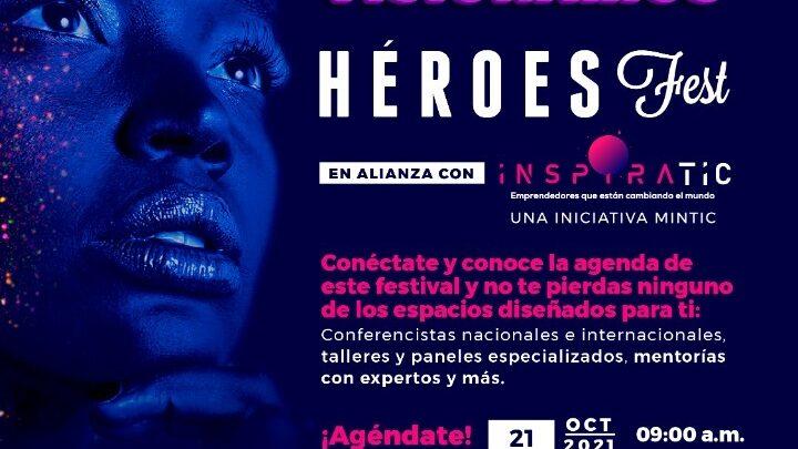Héroes Fest e InspiraTIC brindarán talleres, mentorías y charlas gratuitas para emprendedores del Tolima