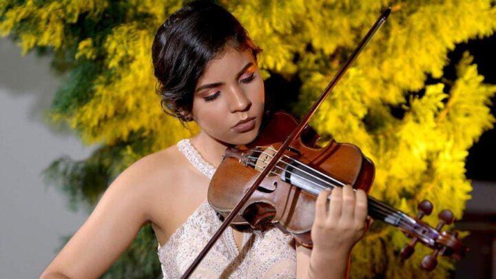 Ángela Rojas Castro violinista ibaguè